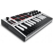 MIDI-клавиатура AKAI MPK Mini 3 белая