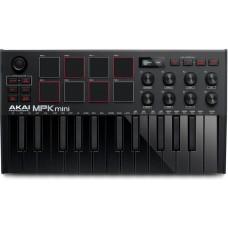 MIDI-клавиатура AKAI MPK Mini MKIII черный